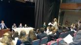 Los Pilares at MUN conference
