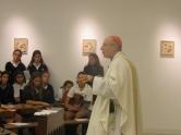 Mons. Sturla en el Colegio