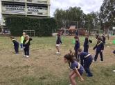 Nuestras mini-atletas en competencia